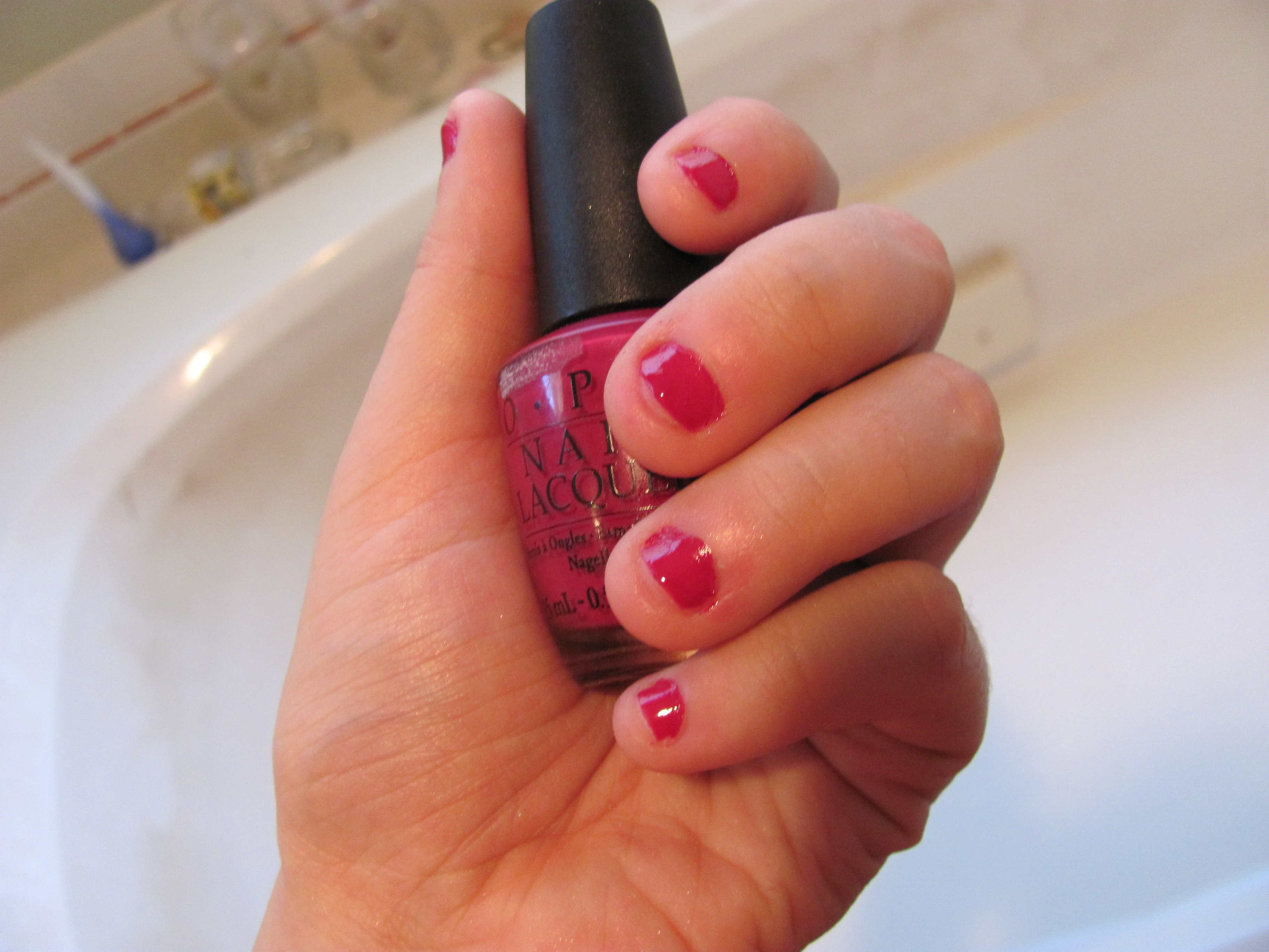 Review: OPI nail color in Miami Beet | The Painted Mask